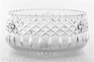 Cartier Cut Crystal Fruit Bowl