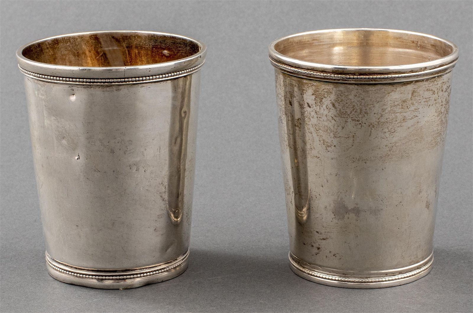 John Kitts & Co. Coin Silver Julep Cups, 2
