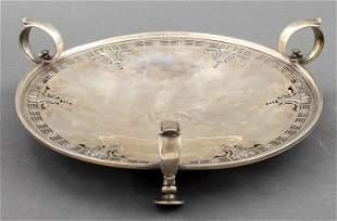 Dominick & Haff Silver Pierced Centerpiece Tray