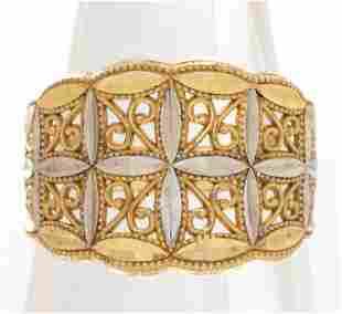 Vintage Michael Anthony Designer 10K Gold Ring