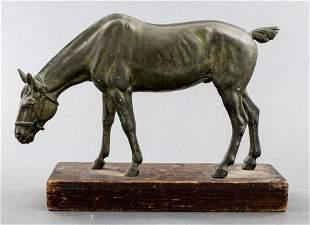Equestrian Sculpture Of A Horse