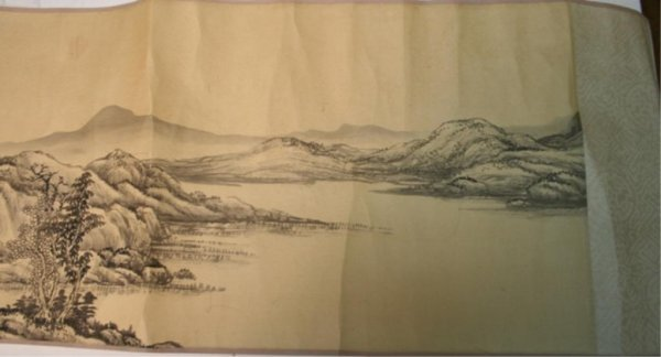 Chinese Hand Scroll of Landscape