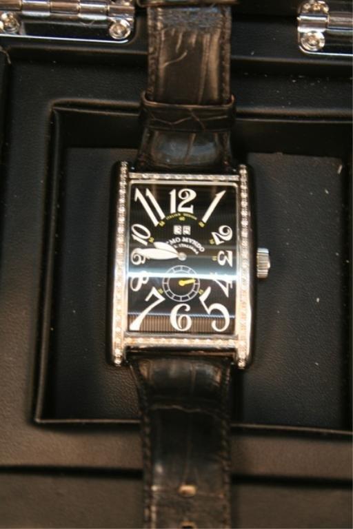 Ritmo Mvndo Men's Stainless Steel Diamond Watch - 2