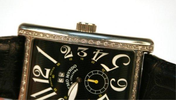 Ritmo Mvndo Men's Stainless Steel Diamond Watch - 6