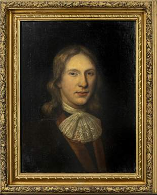 English Portrait of a Gentleman, Oil on Canvas