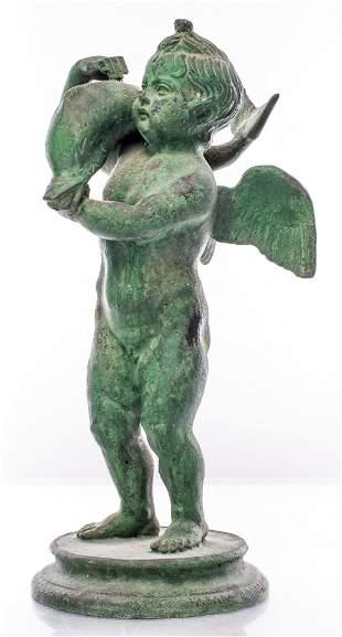 Grand Tour Style Neapolitan Bronze Statuette