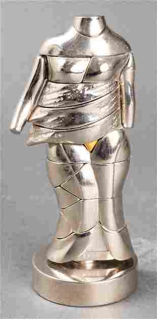 Miguel Berrocal La Mini Cariatide Puzzle Sculpture