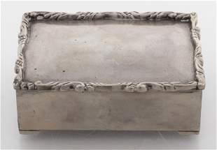 Mexican Silver Jewelry / Cigarette Box
