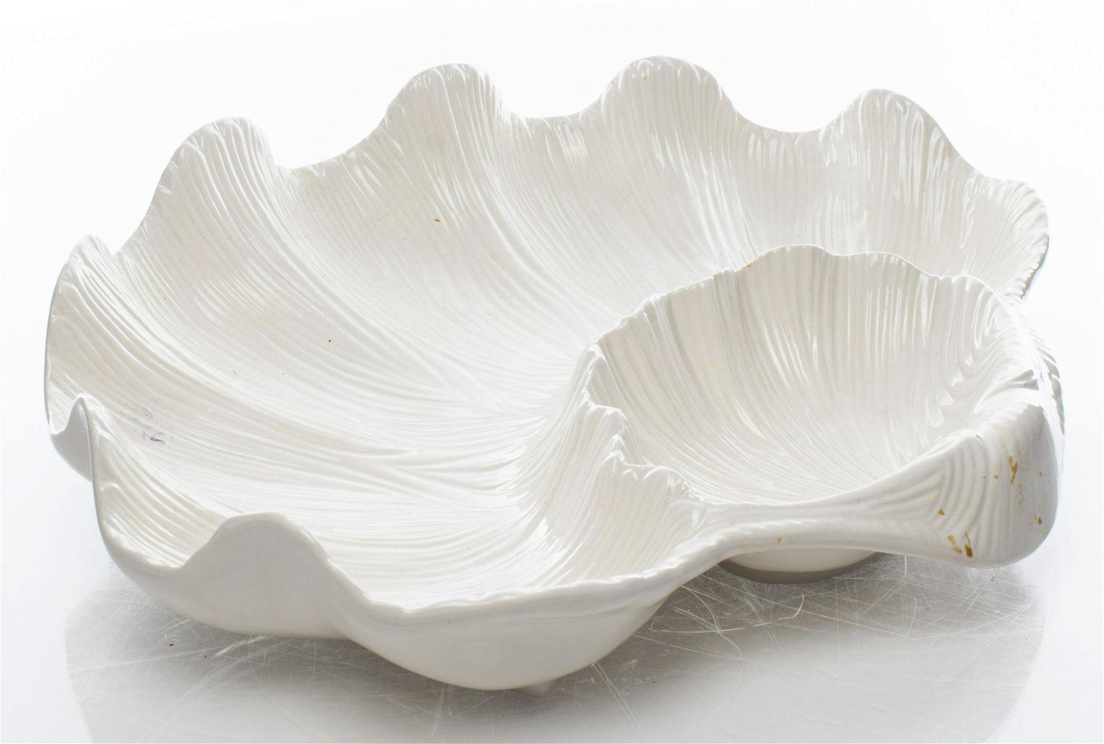 Oscar de la Renta Shell Motif Serving Platter