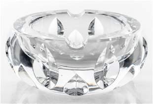 Baccarat Crystal Ash Tray