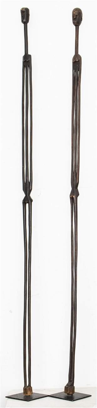 African Nyamwezi Stick Figures, Tanzania, 2