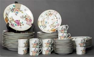 Mottahedeh Vista Alegre Porcelain Service, 60