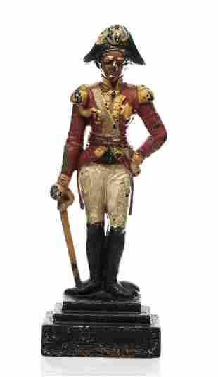 William Bullock attr. Figural Cast Iron Doorstop