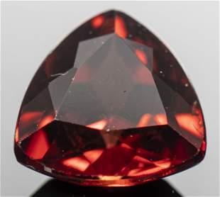 1.90 Ct. Loose Trilliant-Cut Red Zircon