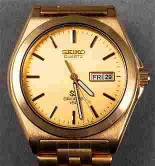 Vintage Men's Seiko Quartz Sport 150 Wrist Watch