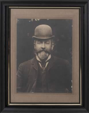 19th C. Photograph, Portrait of a Man