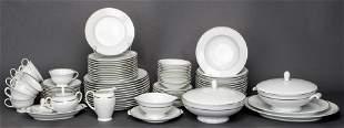 German Rosenthal Porcelain Dishware, 77 PCS.