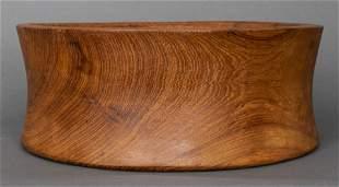 Danish Teak Sculptural Bowl