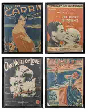 Framed Vintage Show Posters, 4