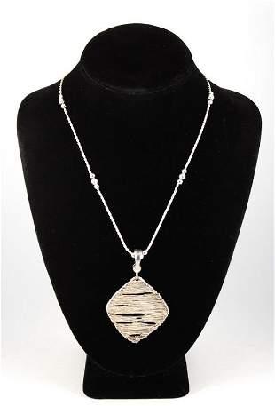 Joseph Esposito Designer Silver Pendant Necklace