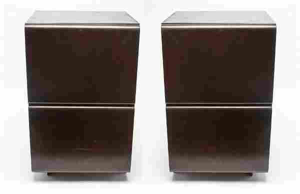 Mid-Century Modern Night Stands / Tables, Pair