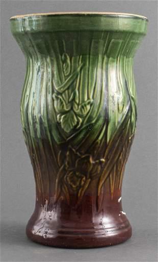 Glazed Earthenware Jardiniere Pedestal