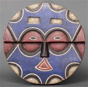 African Teke Polychrome Mask, Dem. Rep. of Congo