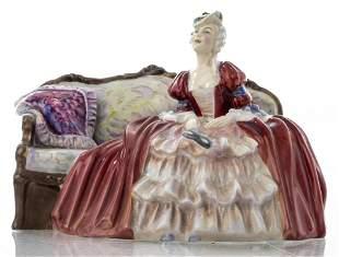 """Royal Doulton """"Belle O' The Ball"""" Porcelain Figure"""