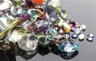 236.9 Cttw. Parcel Of Loose Mixed-Cut Gemstones