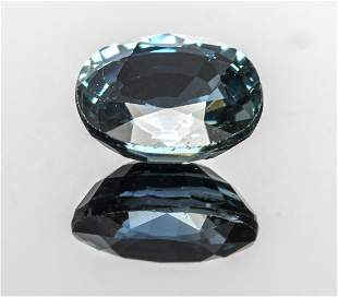 0.90 Ct. Loose Oval Blue Sapphire Stone