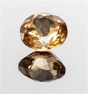 1.81 Ct. Loose Round-Cut Imperial Topaz Gemstone