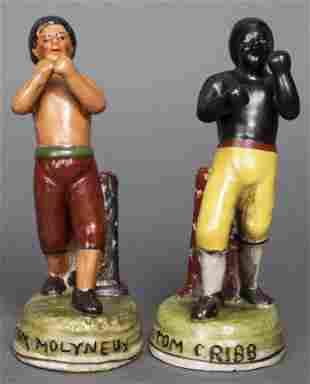 Tom Molineaux vs Tom Cribb Boxing Figurines