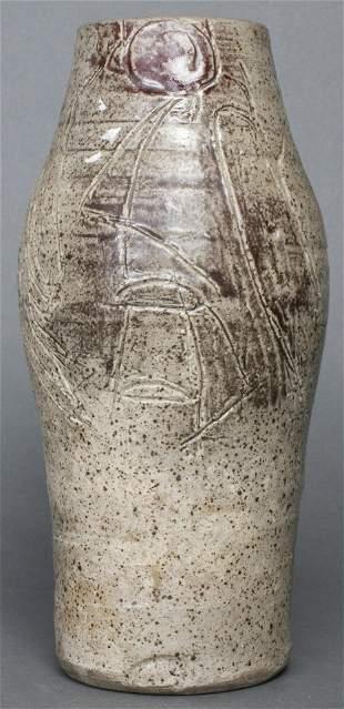 Modern Glazed Ceramic Art Pottery Vase