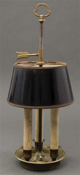 Vintage Petite Bouillotte Lamp