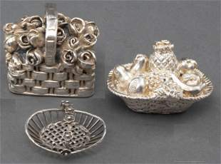 Lisham Art & Other Sterling Silver Objects, 3