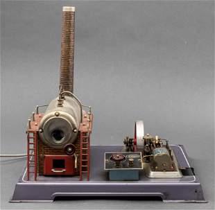 Wilesco Manometer Stationary Steam Engine