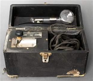 "Vintage Quack Medicine ""Violet Ray Machine"""