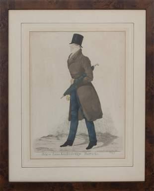 "R. Dighton, ""A View from Knightsbridge.."" Print"