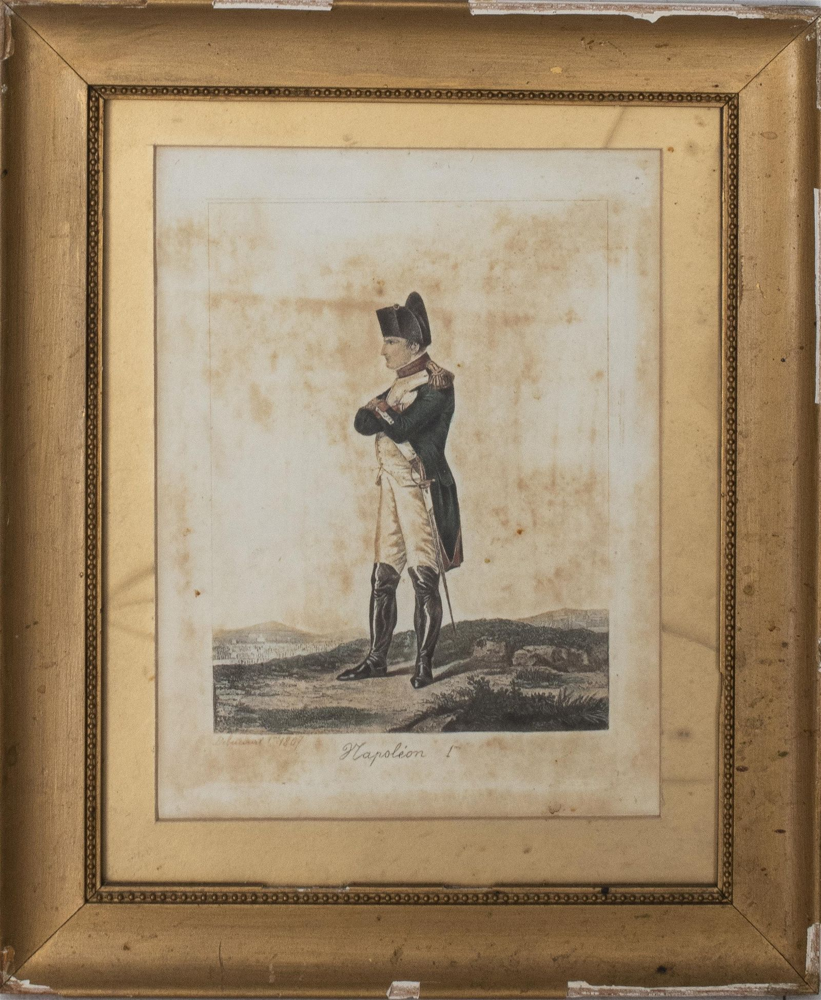 "Philibert-Louis Debucourt, ""Napoleon 100"" Print"