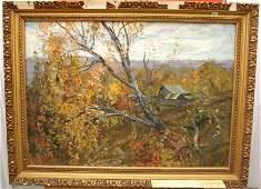 Oktyabr (October) Oil by Andrey Ovcharov