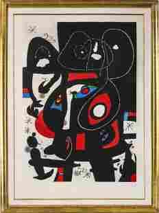 "Joan Miro ""La Métamorphose"" Etching and Aquatint"