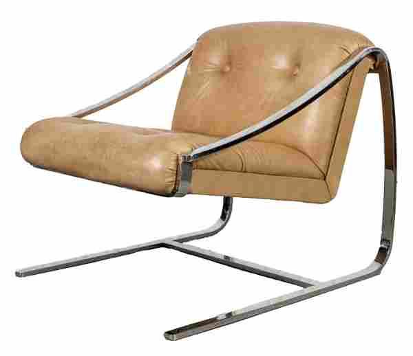 Gibilterra for Brueton Modern Cantilever Armchair