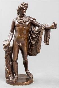 Barbedienne Bronze Sculpture of Apollo Belvedere