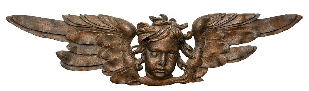 Baroque Style Carved Architectural Element