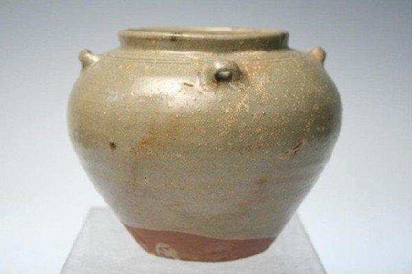 Ceramic Chinese Han Dynasty Glazed Vase
