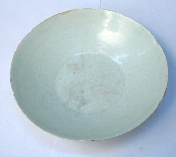Yuan Dynasty Chinese Ying Qing Shallow Dish