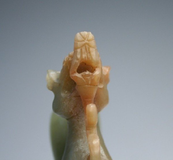 Chinese Carved Jade Dragon - 9