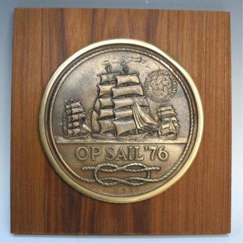 """1976 Bicentennial """"Op Sail"""" Sterling Medal Set - 3"""
