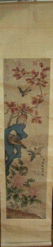 Four Chinese Qing Scroll Paintings Jiang Tingxi