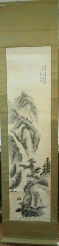 Chinese Scroll Painting by Fan Haosen 20th C.